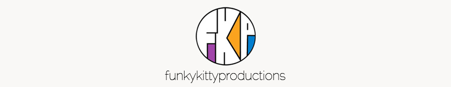 funkykittyproductions.com blog header image